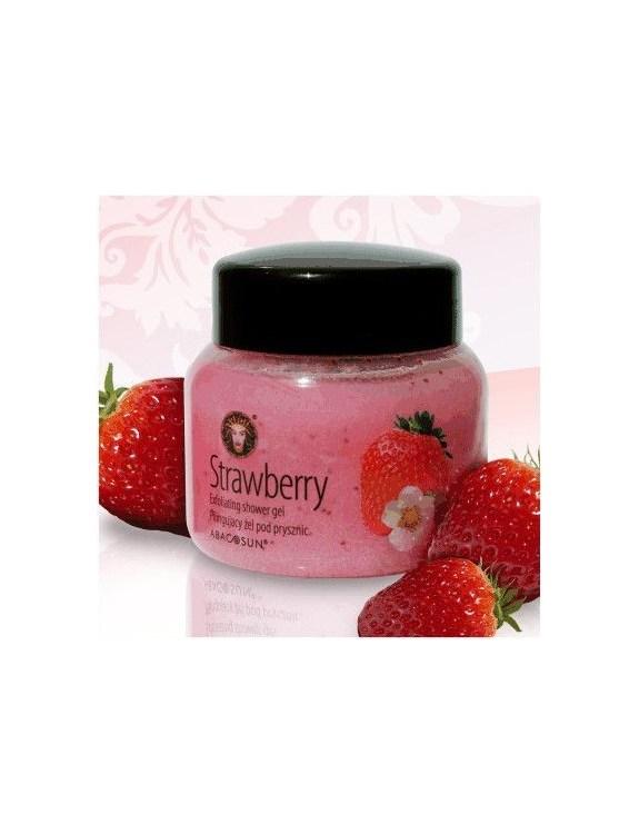 Abacosun - Truskawkowy Pilingujący Żel Pod Prysznic - Strawberry Exfoliating Shower Gel