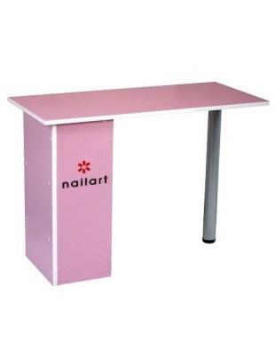 Stolik kosmetyczny - różowy