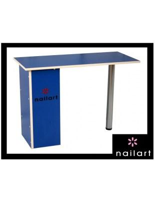 Stolik kosmetyczny - niebieski