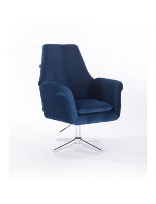 Marky - krzesło kosmetyczne ciemne morze