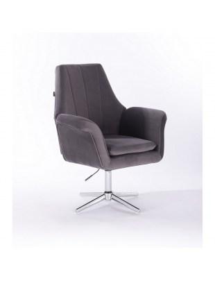 Marky - krzesło kosmetyczne grafit
