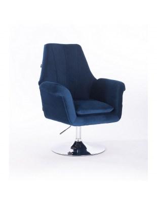 Marky - krzesło kosmetyczne stalowe dysk