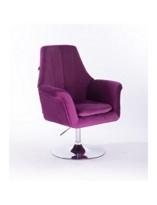 Marky - krzesło kosmetyczne fuksja dysk