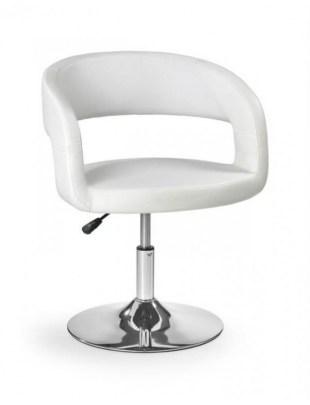 Fotel fryzjerski H41 - biały