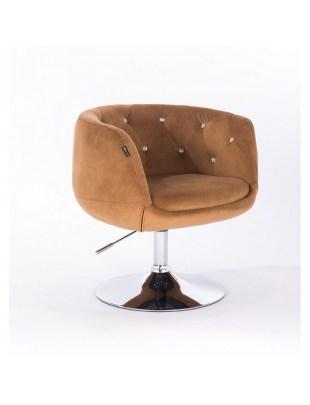 BARDO CRISTAL - Krzesło kosmetyczne miodowe