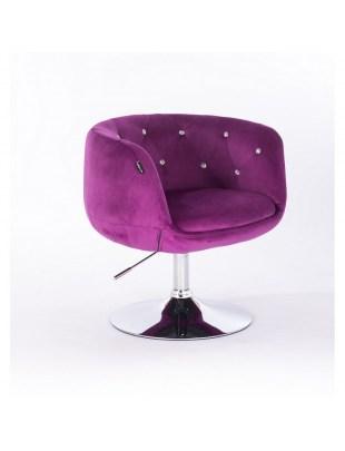 BARDO CRISTAL - Krzesło kosmetyczne fuksja