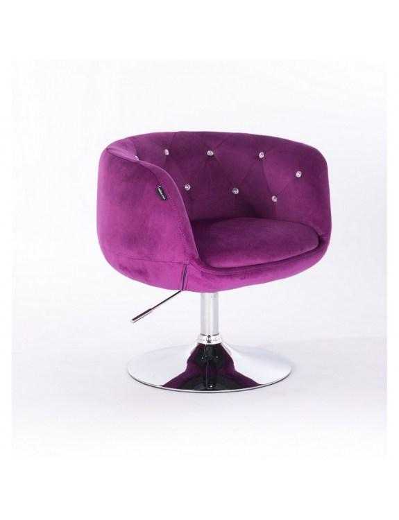 BARDO - Krzesło kosmetyczne fuksja