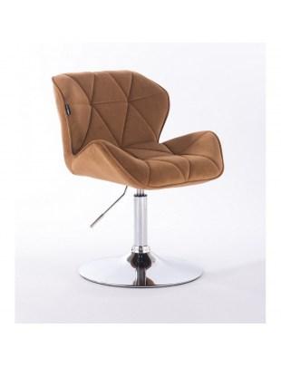 Petyr - krzesło kosmetyczne miodowe dysk
