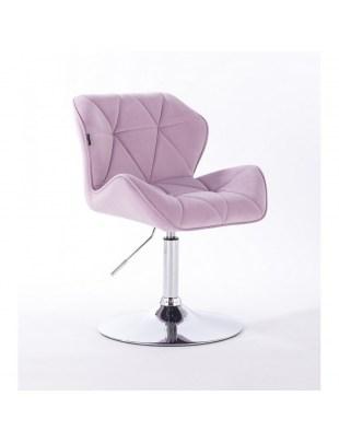 Petyr - krzesło kosmetyczne wrzosowe dysk