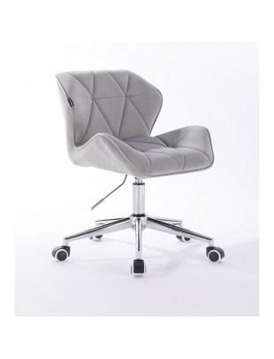 Petyr - krzesło kosmetyczne stalowe kółka