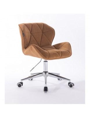 Petyr - krzesło kosmetyczne miodowe kółka