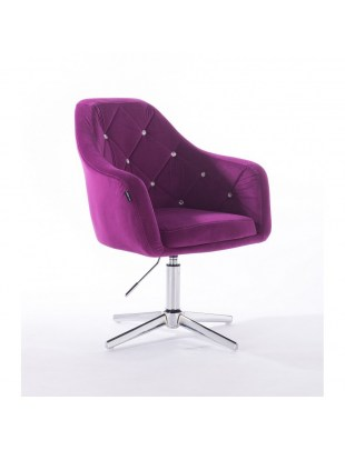 Blerm glat – krzesło kosmetyczne fuksja