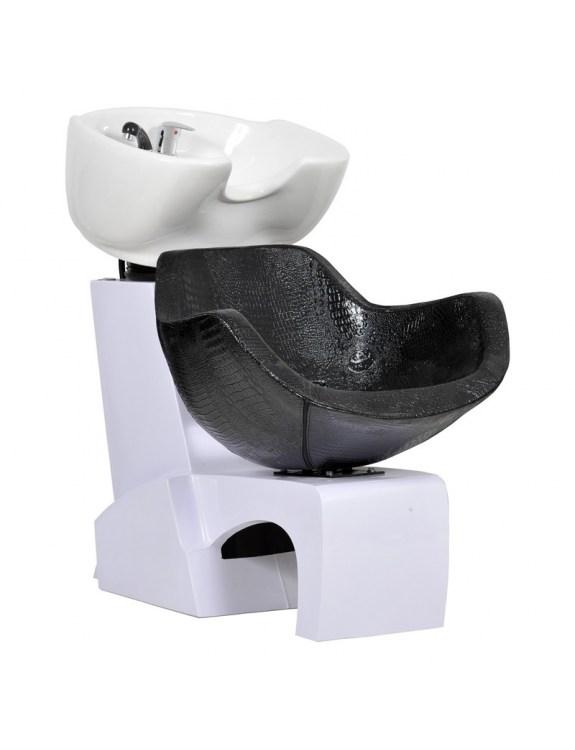 Myjnia fryzjerska Prato - czarny krokodyl