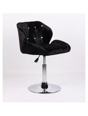 ANTONY - hoker kosmetyczny czarny welurowy