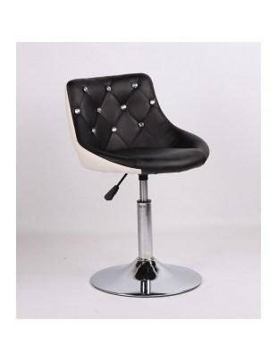 SIMONA - hoker fryzjerski czarno-biały, dysk