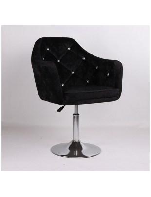 Blerm - Krzesło kosmetyczne czarny
