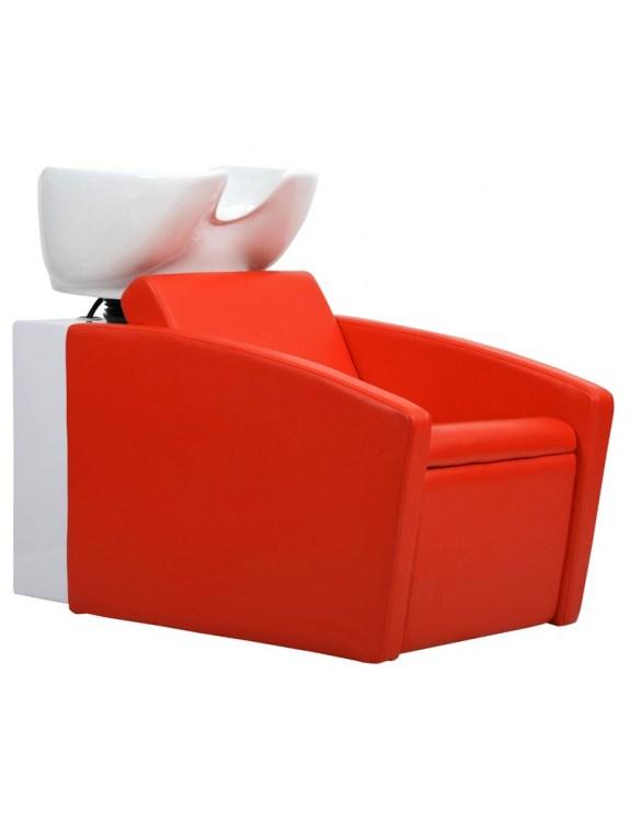 Myjnia fryzjerska Capri - czerwona