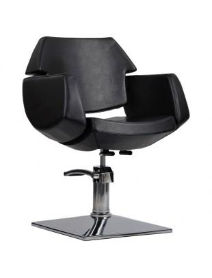Fotel fryzjerski IMPERIA czarny