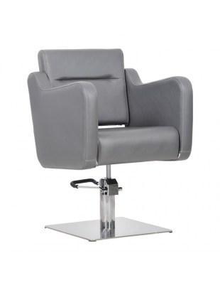 Fotel fryzjerski Lux grafitowy