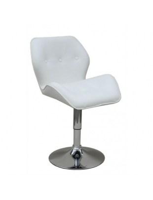 Adamo - krzesło kosmetyczne białe