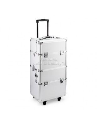Kufer Fryzjersko - Kosmetyczny MAX - SILVER