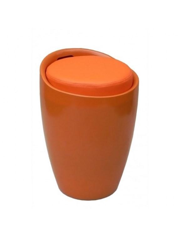 Pufa do pokalni - pomarańczowa