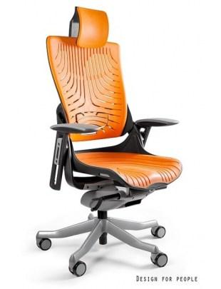 Fotel biurowy WAU 2 ELASTOMETR czarny - mango