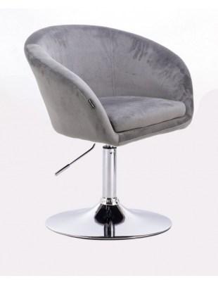 Cassie - Fotel stalowy dysk