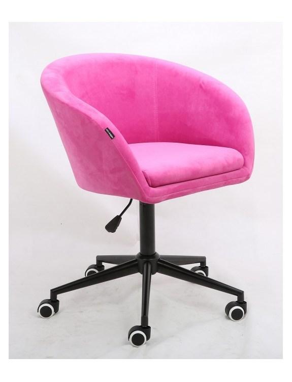 Cassie - Fotel malinowy mat