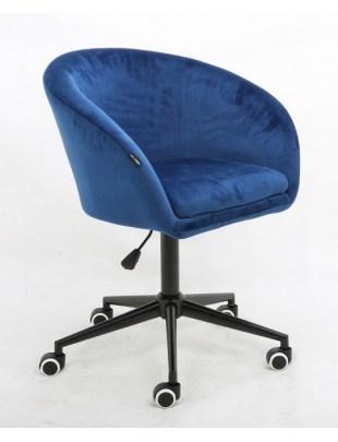 Cassie - Fotel ciemne morze mat