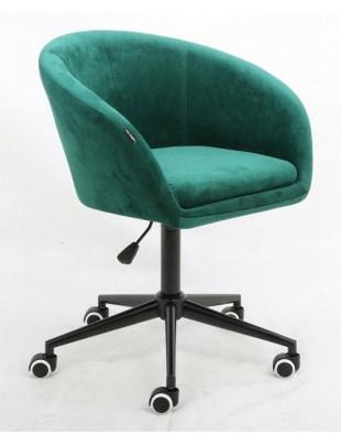 Cassie - Fotel butelkowa zieleń mat