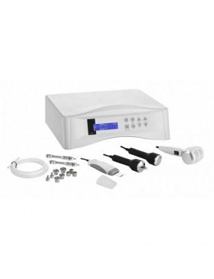 Mikrodermabrazja diamentowa z peelingiem kawitacyjnym, ultradźwiękami i głowicą Hot-Cold HS 332