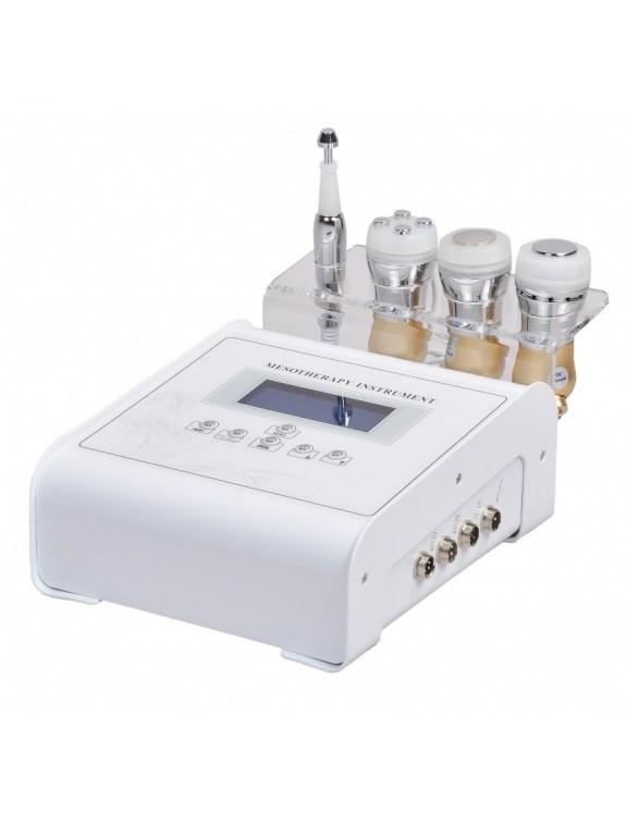 Mezoterapia bezigłowa: elektroporacja i elektroosmoza z ultradźwiękami i głowicą Hot-Cold HS 9090