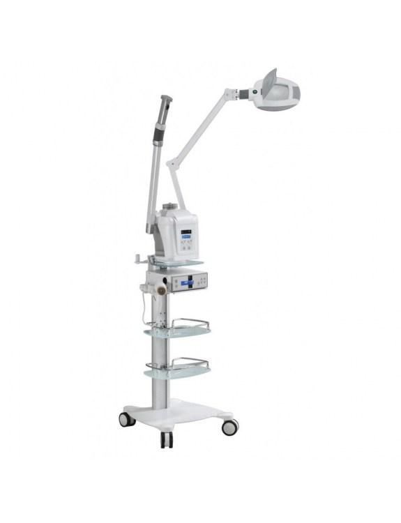 Wapozon z funkcją Ozonoterapii, Brush i Lampa Lupa LED HS 801T