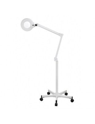 Klasyczna Lampa Lupa ze światłem fluorescencyjnym na statywie HS 1001