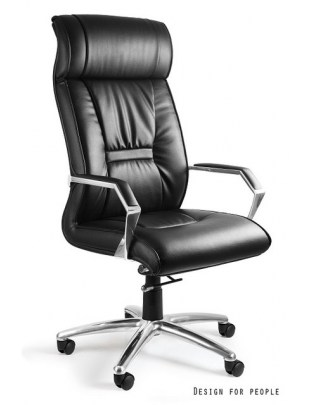Fotel biurowy Celio skóra naturalna