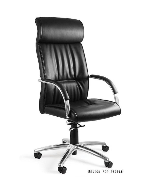 Fotel biurowy Brando skóra naturalna