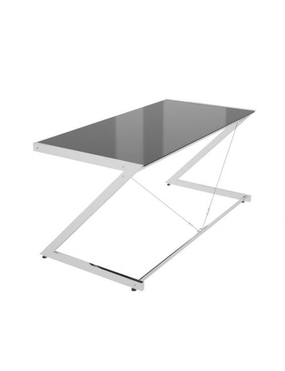 Z-Line - Chrom - Main Desk Black