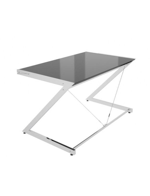 Z-Line - Chrom - Computer Desk Black