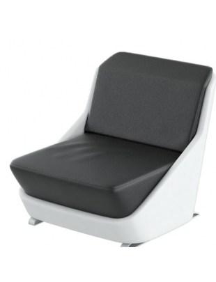 GALAXY - Fotel do poczekalni Panda 48h