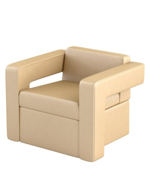 Fotel do poczekalni SHINE