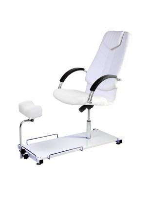 DINO III - Fotel podologiczny z drewnianymi podłokietnikami Panda
