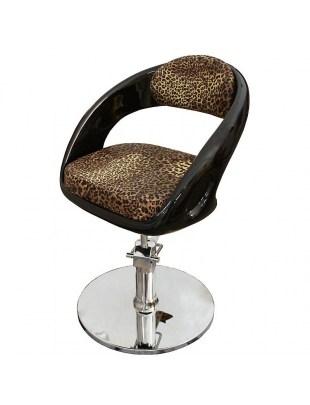 Fotel fryzjerski Avellino 1753 - leopard
