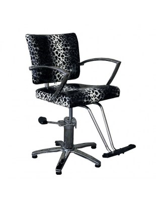 Fotel fryzjerski NAPOLI 1167 leopard