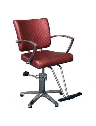 Fotel fryzjerski NAPOLI 1167 rdzawy