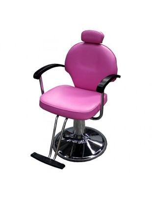 Fotel fryzjerski Carrara 1140 - różowy