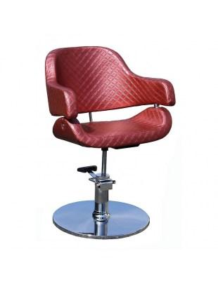 Fotel fryzjerski Vigo 1897 - rdzawy