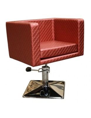 Fotel fryzjerski MASSA 1374 rdzawy