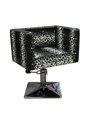 Fotel fryzjerski MASSA 1374 leopard