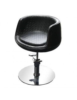 Fotel fryzjerski Paliano 1895 - czarny